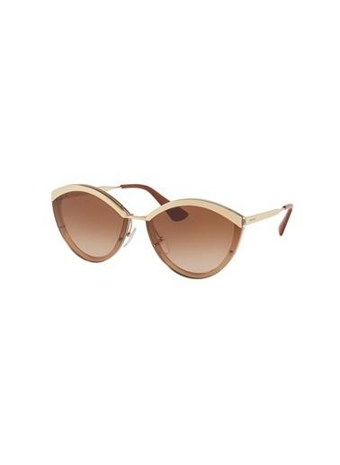 Prada Prada 0PR 07US Kadın Güneş Gözlüğü Renksiz